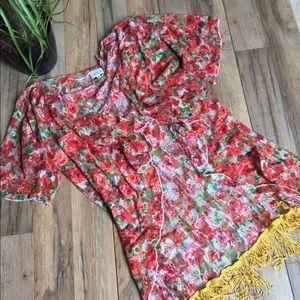 [LulaRoe] Floral Kimono